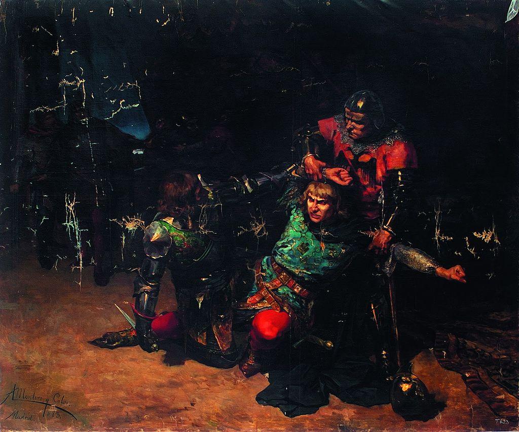 blanche-la_muerte_del_rey_don_pedro_i_de_castilla