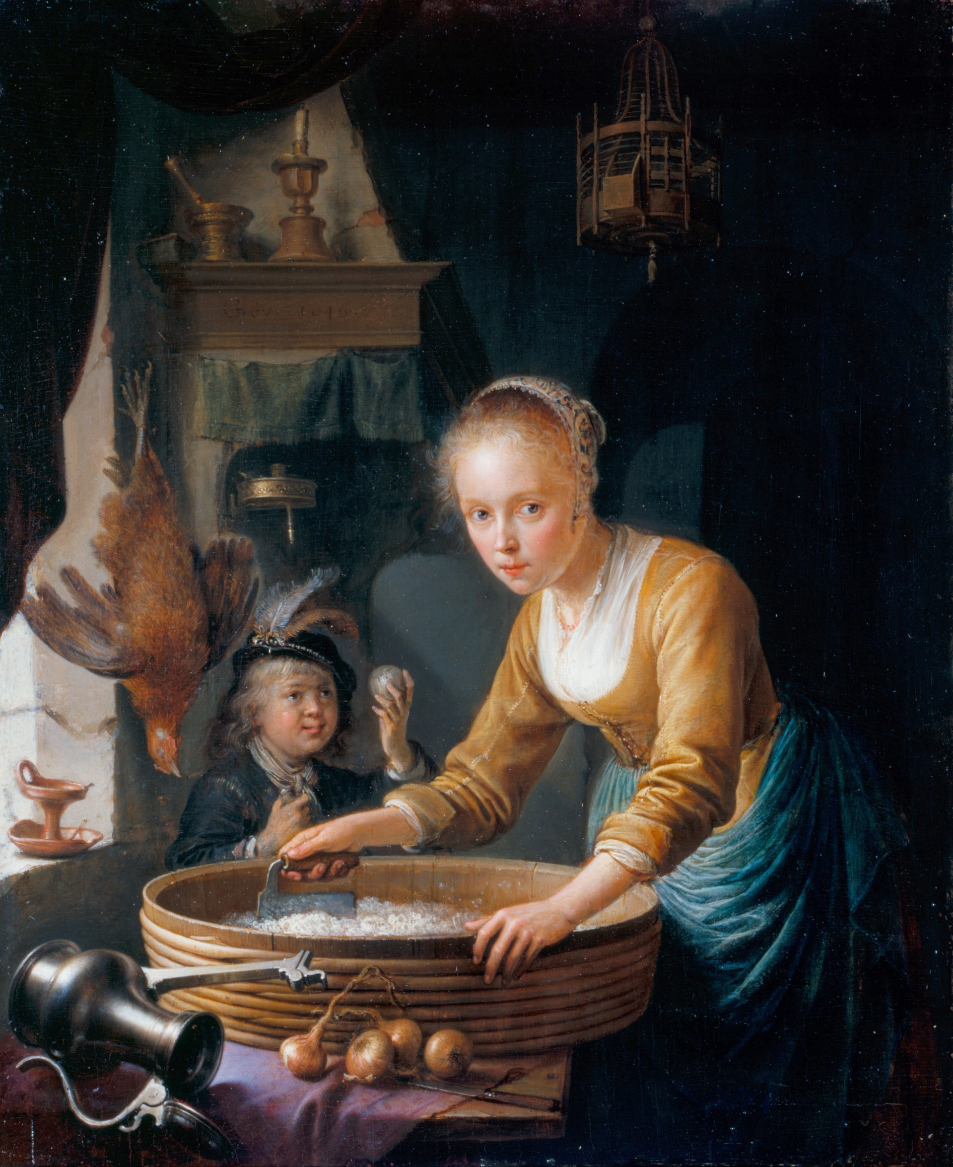 onions-siftingthepast_girl-chopping-onions_gerrit-dou-1613-1675_1646