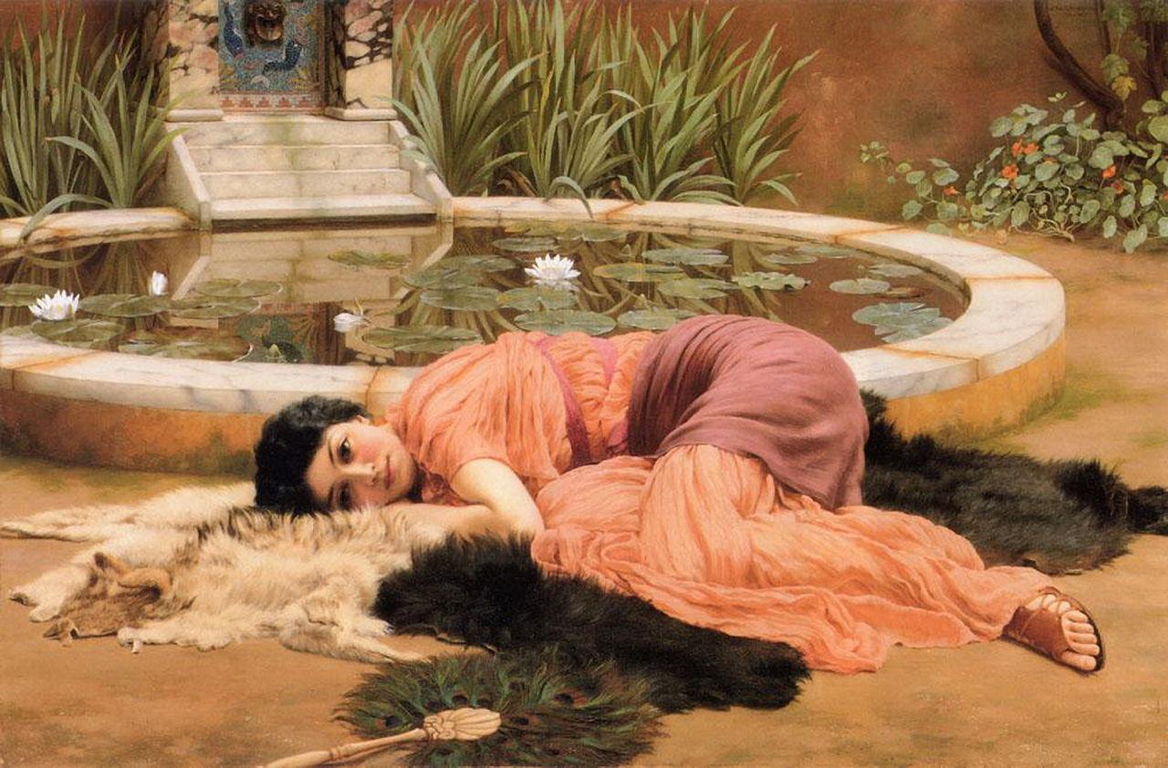 raquel-john_william_godward_-_dolce_far_niente_1904