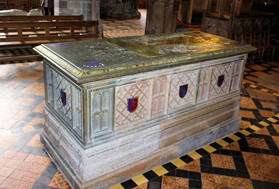 TR Edmund Tudor's tomb