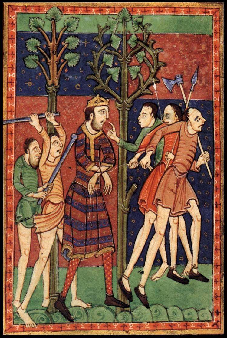 EHFA 12th-century_painters_-_Life_of_St_Edmund_-_WGA15723