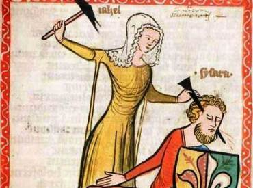 mabel medieval-nail-through-the-head