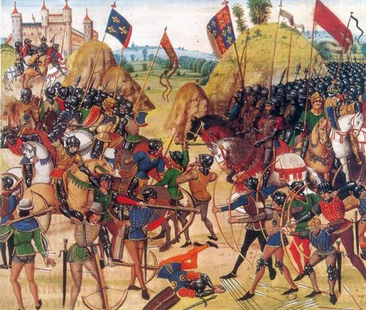 John Hawkwood Battle-of-Crecy