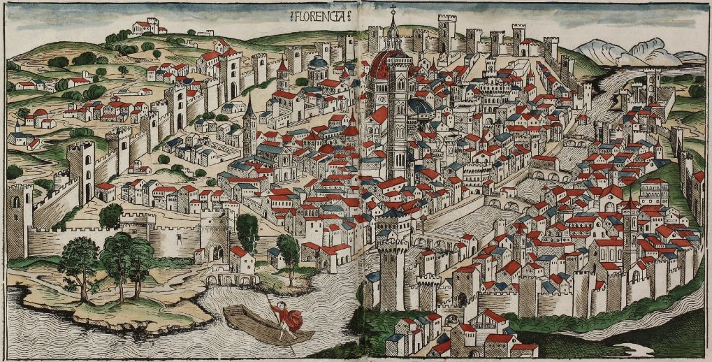 John Hawkwood Colored_woodcut_town_view_of_Florence