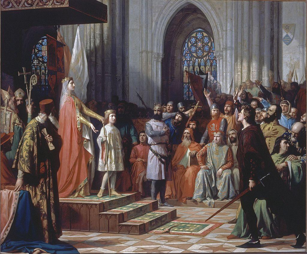 María_de_Molina_presenta_a_su_hijo_a_las_Cortes_de_Valladolid_1863_Antonio_Gisbert_Pérez