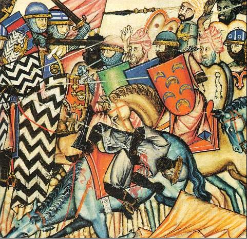 maria Cantigas_battle