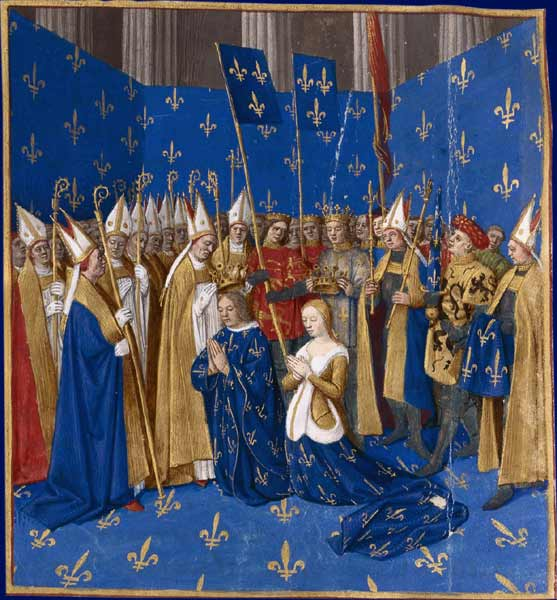 Blanche Coronation_of_Louis_VIII_and_Blanche_of_Castille_1223