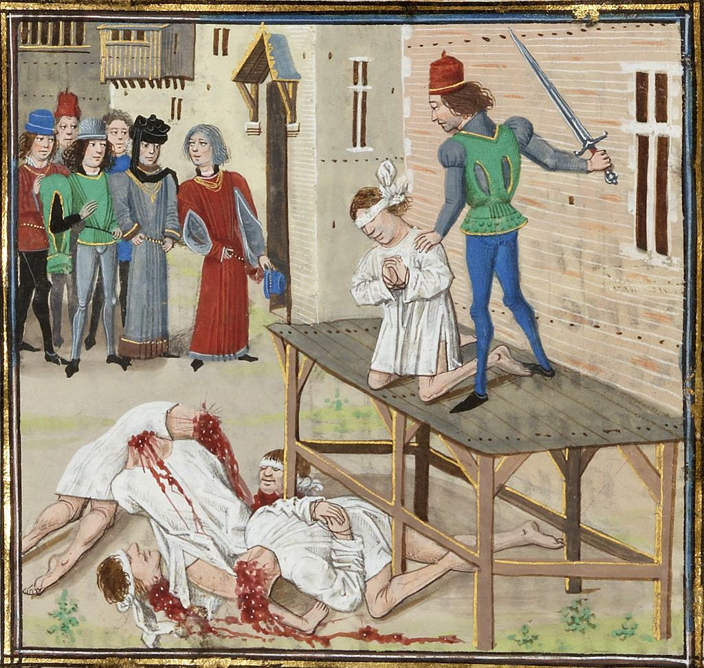 Clisson Exécution_d'Olivier_IV_de_Clisson_(1343)