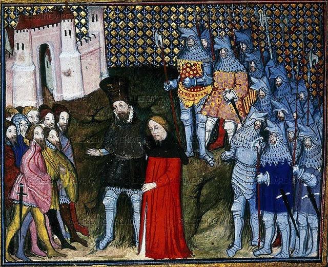Henry richard-ii-renounces-his-throne-1399-from-jean-creton-histoire-du-roy-dangleterre