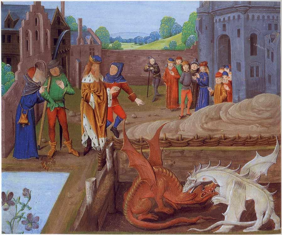Arthur Vortigern-Dragons