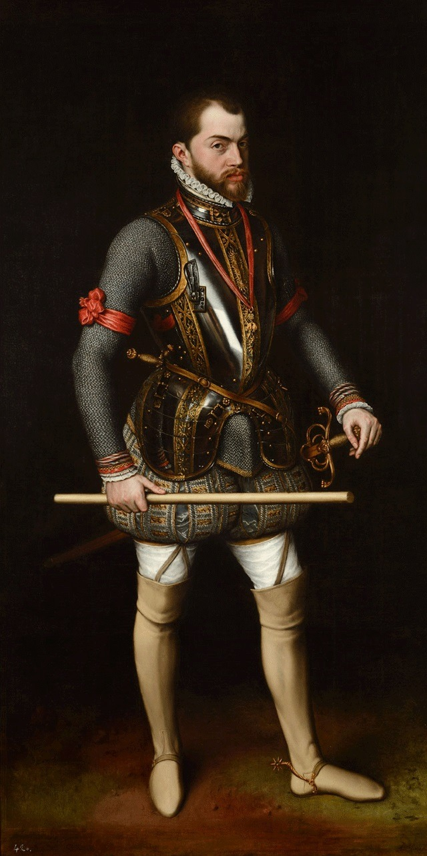 Felipe King_PhilipII_of_Spain