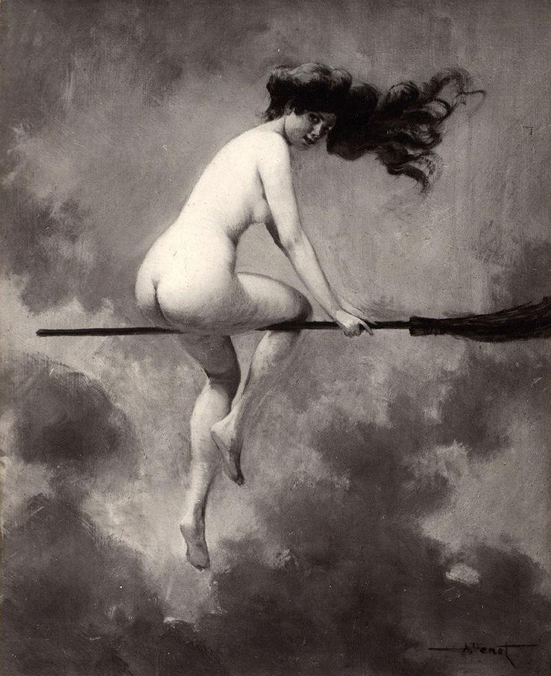 witches 800px-Albert_Joseph_Pénot_-_Départ_pour_le_Sabbat_(1910)