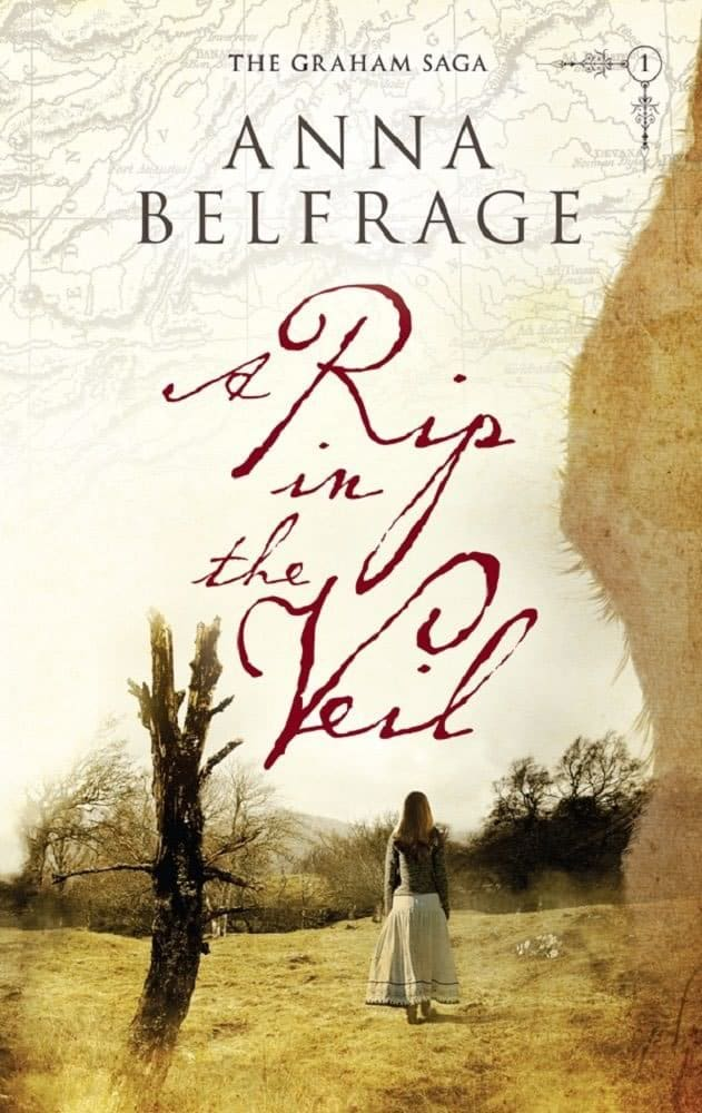 A Rip in the Veil, by Anna Belfrage, cover