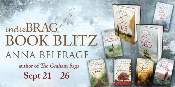 IndieBRAG Book Blitz, Anna Belfrage, author of The Graham Saga