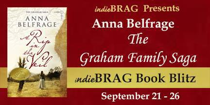 IndieBRAG Book Blitz, The Graham Family Saga, by Anna Belfrage