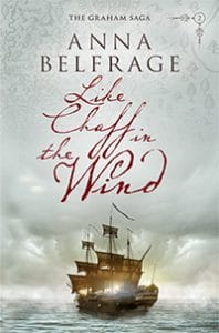 Like Chaff in the Wind, by Anna Belfrage, cover