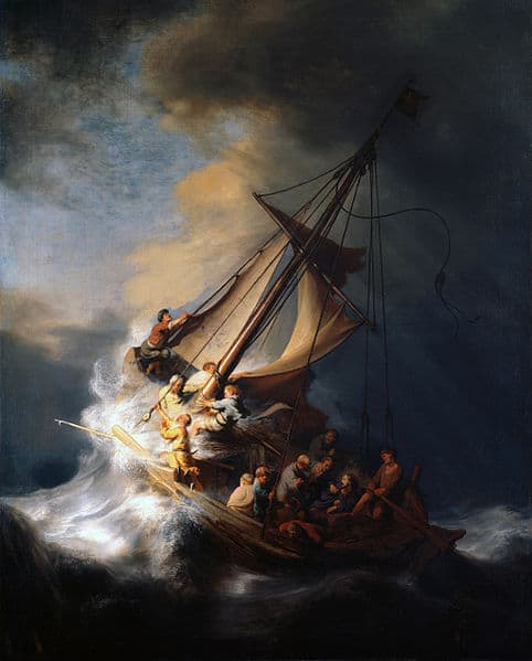 , Christ in the Storm on the Lake of Galilee