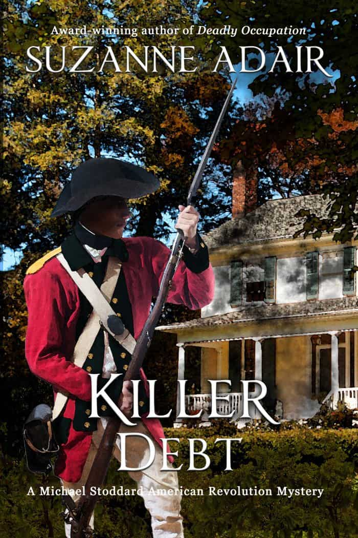 Killer Debt Ebook Cover, Suzanne Adair