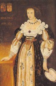 Anna Vasa Elbfas_Portrait_of_a_lady_with_a_fan_(detail)