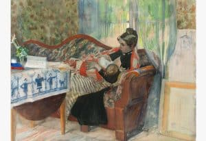 Mother hood Carl-Larsson_Galleri_2