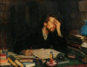 Writing Leonid Pasternak