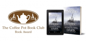 Coffee Pot Book Club Award for Under the Approaching Dark