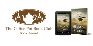 Coffee Pot Book Club Award for Shadow of the Storm