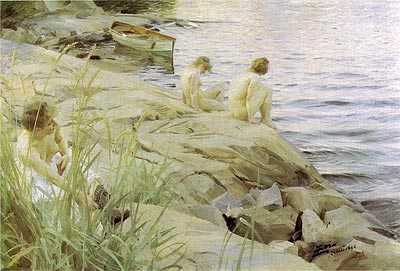 baths Anders_Zorn_-_Outdoors