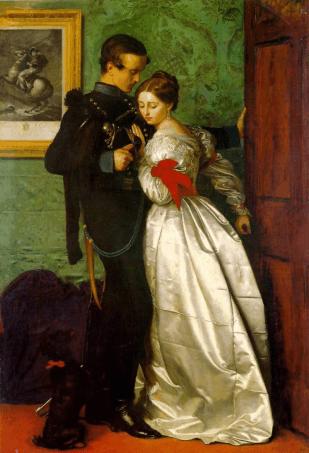 Millais The-Black-Brunswicker_John-Everett-Millais