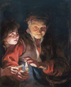 candles Peter_Paul_Rubens_-_Night_Scene_-_WGA20423