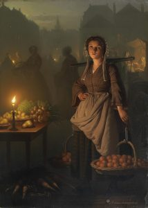candles Petrus_van_Schendel_Market_by_candlelight