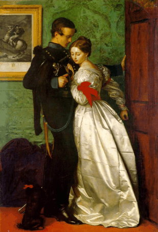 Millais The-Black-Brunswicker_John-Everett-Millais