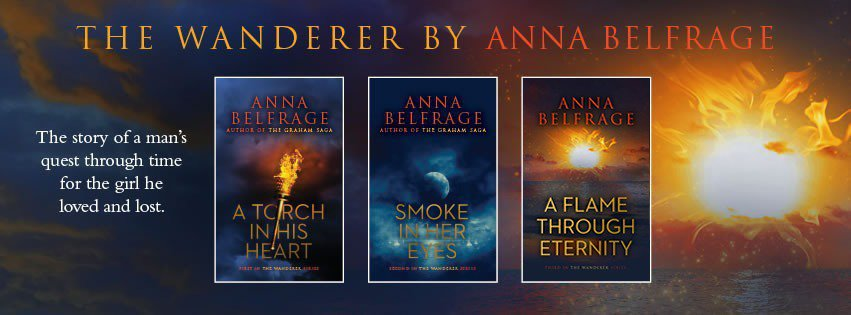 The Wanderer Series by Anna Belfrage