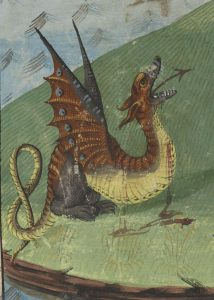wounded dragon French native