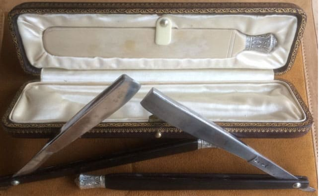 Lucinda Henry-Birks-made-razors,-whetstone-and-carry-case-(1750-1770)