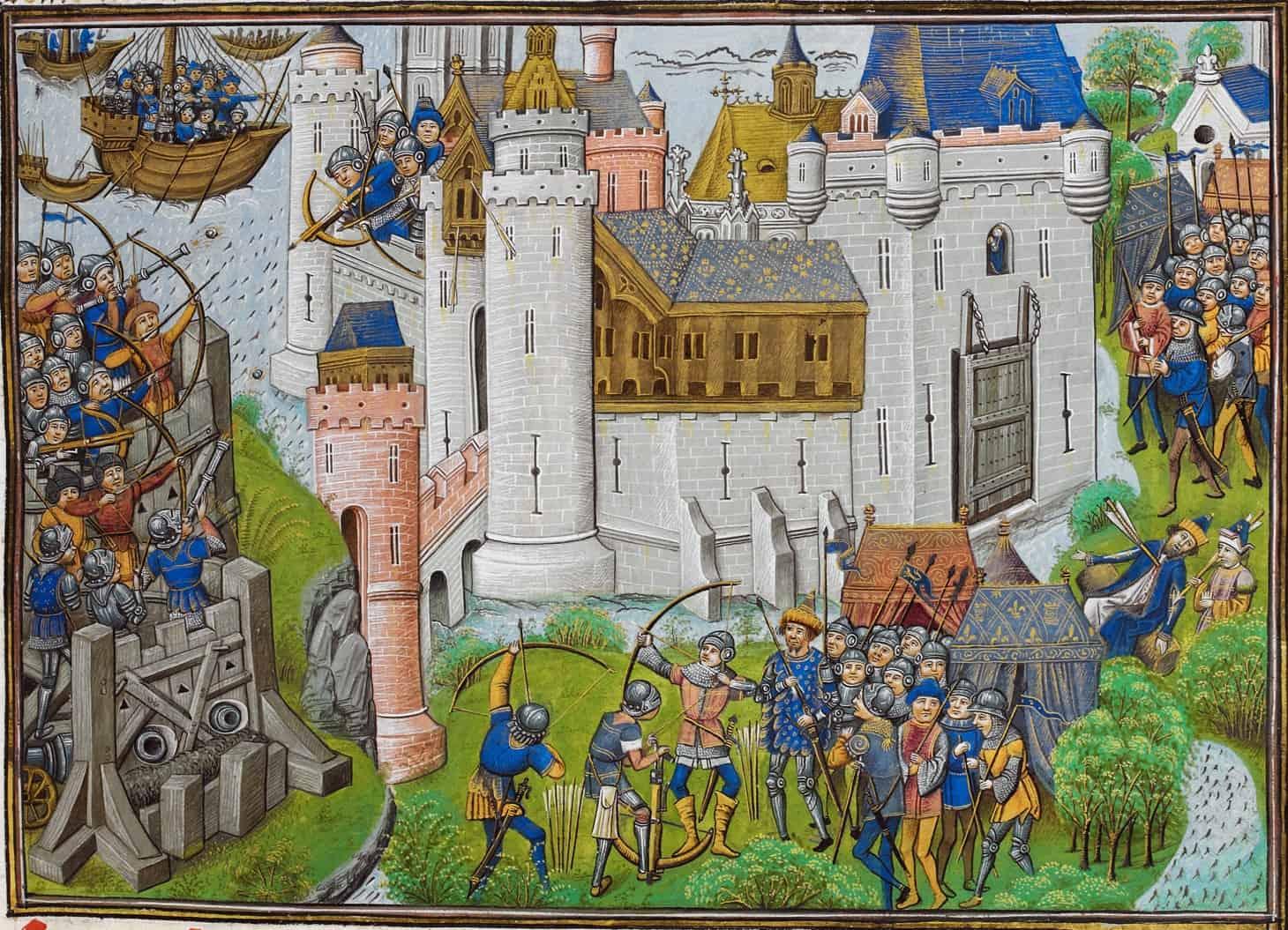 Owain Mortagne_siege