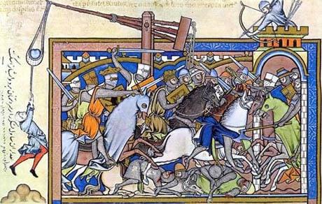 Caerlaverock Medieval-Siege-Warfare