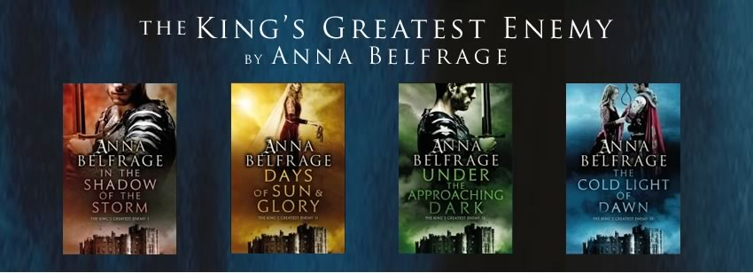 Kings Greatest Enemy Series, Anna Belfrage