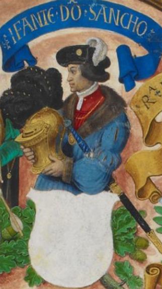 Anonymous bastard D._Sancho_de_Aragão,_conde_da_Cerdanha-_The_Portuguese_Genealogy_(Genealogia_dos_Reis_de_Portugal)