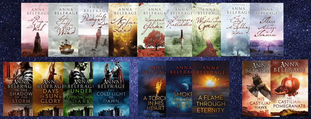 All books by Anna Belfrage