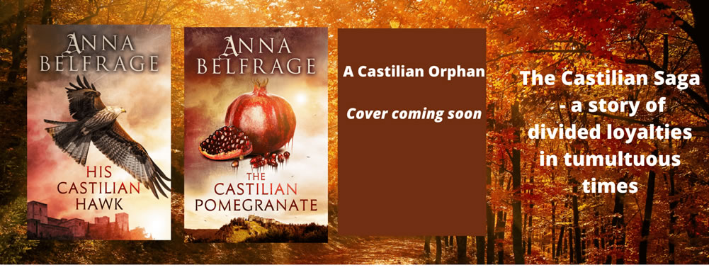The Castilian Saga, by Anna Belfrage