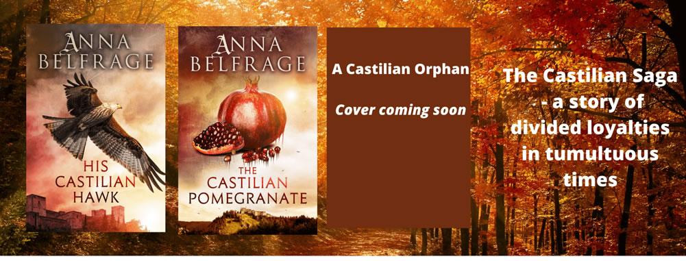 The Castilian Saga, by Anna Belfrage