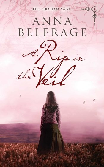 A Rip in the Veil by Anna Belfrage, cover