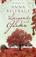 Serpents in the Garden, by Anna Belfrage, cover